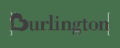 logo - burlington - black and white