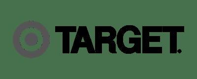 logo - target - black and white