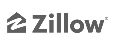 logo - zillow - black and white