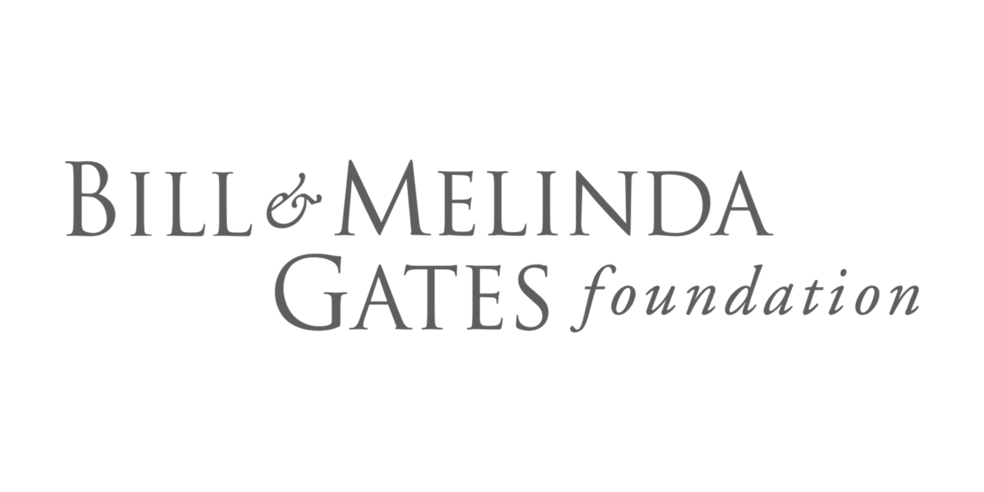 logo - grey - gates foundation