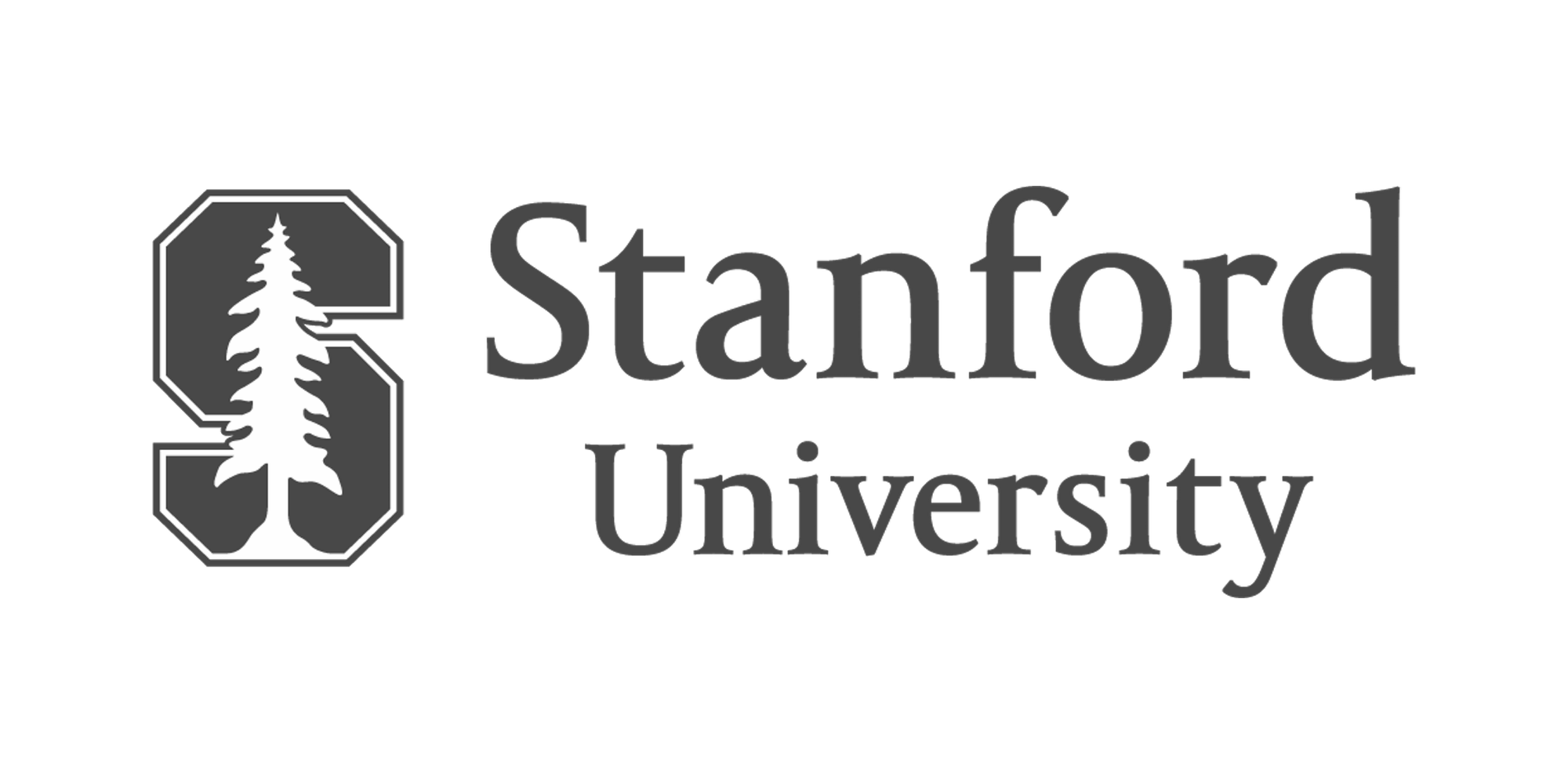 logo - grey - stanford university